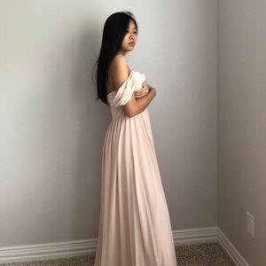 Baby Pink Lulu's Maxi Dress